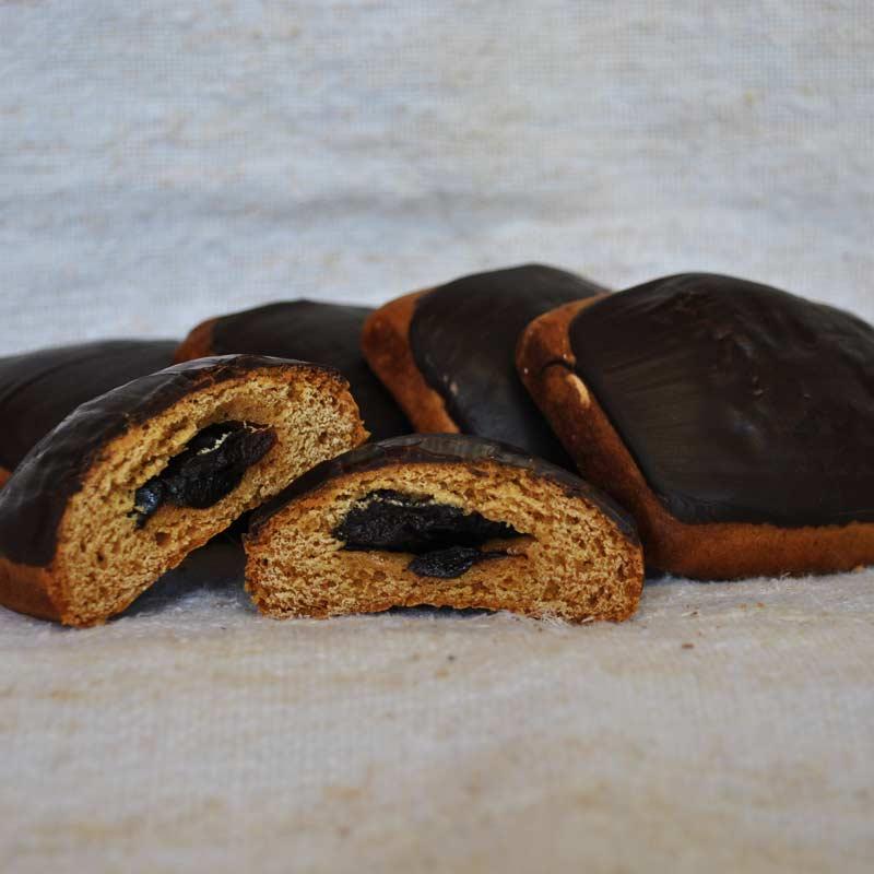 Slivovi medenjaki s temno čokolado